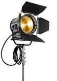 Cinematograph spotlight Stock Photo
