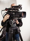 Cinematographer Royalty Free Stock Photo
