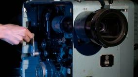 Cinematographic equipment, leisure, fascination stock video footage