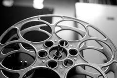 cinematographic rulle för begreppsfilmindustri Arkivfoto