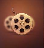 cinematographic rulle för begreppsfilmindustri Royaltyfri Fotografi