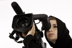 Cinematography Class Stock Image