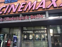 Cinemaxx cinema in Berlin royalty free stock image