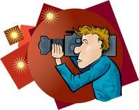 Cineoperatore illustrazione di stock
