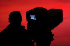 Cineoperatore Immagine Stock Libera da Diritti
