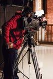 cineoperatore Fotografie Stock