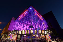 Cineplex bio i Munster, Tyskland Royaltyfri Foto