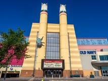 Cineplex filmteater på den Chinook mittgallerian Fotografering för Bildbyråer