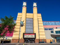 Cineplex movie theatre at Chinook Centre mall Stock Image
