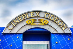 Cineplex Odeon Royaltyfri Bild