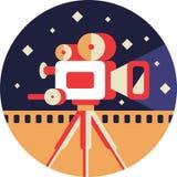 Cinepresa illustrazione vettoriale