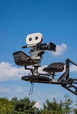 Cinepresa Fotografia Stock Libera da Diritti