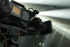Cinepresa di televisione Fotografia Stock