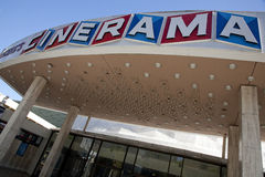 Cinerama Dome Royalty Free Stock Image
