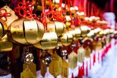 Cinese amulet5 Fotografia Stock