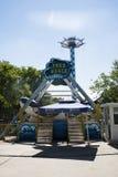 Cinese asiatico, parco di Pechino, Chaoyang, il parco di divertimenti coraggioso, Fotografia Stock
