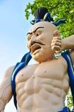 Cinese Buddha su bianco Fotografia Stock Libera da Diritti