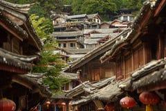 Cinese Città Vecchia di Lijiang Fotografia Stock Libera da Diritti