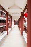 Cinese   Corridoio lungo Immagine Stock Libera da Diritti