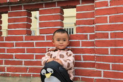 cinese del bambino Fotografie Stock Libere da Diritti