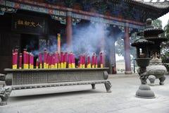 Cinese del mausoleo di Huangdi Fotografie Stock