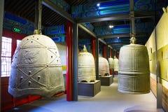 Cinese dell'Asia, Pechino, ¼ antico Œ del exhibitionï di ŒIndoor del ¼ di Dazhongsi Bell Museumï Immagine Stock Libera da Diritti