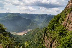 Cinese della montagna di Gansu Kongtong Immagini Stock Libere da Diritti
