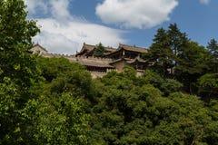 Cinese della montagna di Gansu Kongtong Fotografie Stock Libere da Diritti
