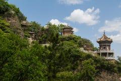Cinese della montagna di Gansu Kongtong Immagine Stock
