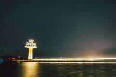 Cinese e illuminazione del faro Fotografia Stock Libera da Diritti