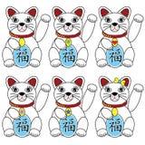 Cinese Lucky Cat Fotografie Stock