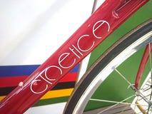 Cinetica Giotto en bici de la raza de Cinelli Fotos de archivo
