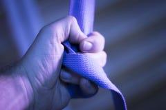 Cinghia della banda di forma fisica dei pilates di yoga Fotografia Stock