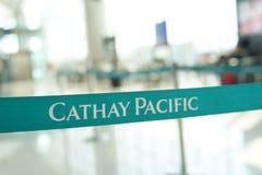 Cinghia di Cathay Pacific Fotografie Stock