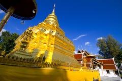 Cinghia di Wat Phra That Si Chom Fotografia Stock