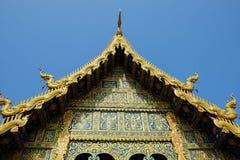 Cinghia di Wat Phra That Sri Chom, Chiangmai, a nord della Tailandia immagine stock