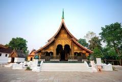 Cinghia di Wat Xieng Immagine Stock Libera da Diritti