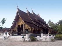 Cinghia di Wat Xieng Immagine Stock