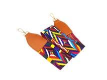 Cinghia multicolore della borsa della donna Immagine Stock Libera da Diritti