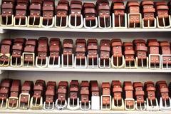 Cinghie di cuoio Fotografia Stock