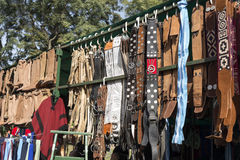 Cinghie e stivali del gaucho fotografie stock