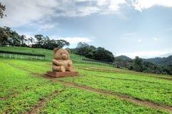 Cingjing Farm, Nantou County, Taiwan. The Qingjing Farm, also known as Cingjing Farm, is a tourist attraction farm in Ren`ai Township, Nantou County, Taiwan Royalty Free Stock Photography