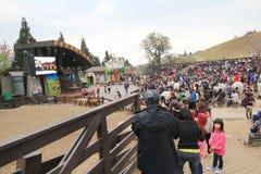 Cingjing Farm view in Taiwan Royalty Free Stock Photos