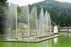 Cingjing lantgård Arkivbild