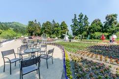 Cingjing Small Swiss Garden in Nantou,Taiwan. Stock Photos