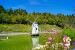 Cingjings Kleine Zwitserse Tuin in Nantou royalty-vrije stock fotografie