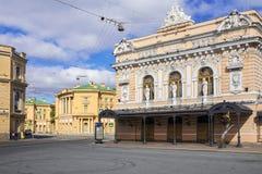 Ciniselli cirkus - första sten-byggde cirkusen i Ryssland (1877) Royaltyfri Foto