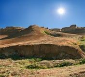 Ścinki na plateau Shalkar-Nura Obrazy Royalty Free