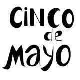 Cinko de mayo. Poster in vector illustration
