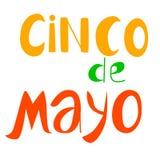 Cinko de mayo. Poster in royalty free illustration
